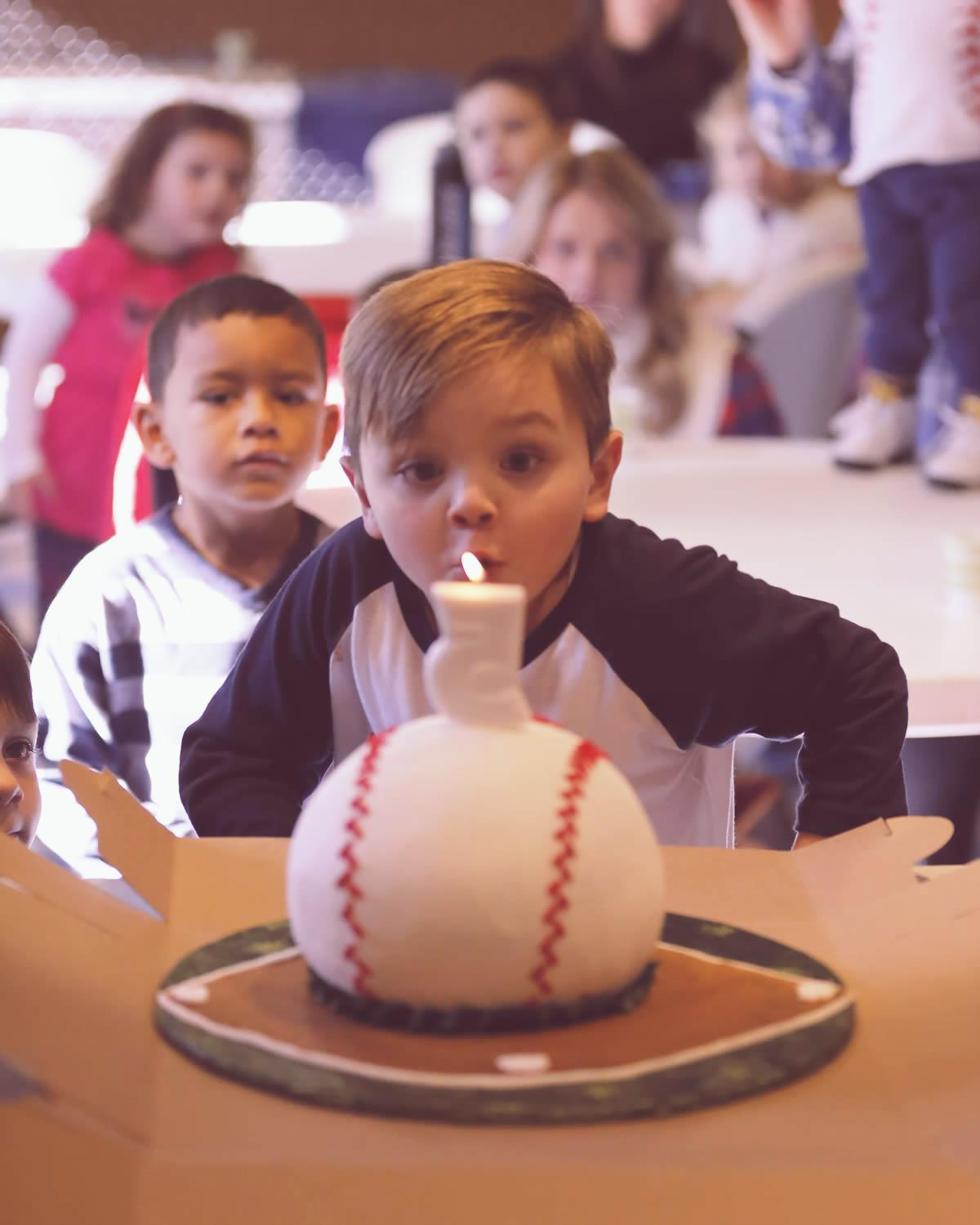 All Stars Academy Baseball Birthday Parties
