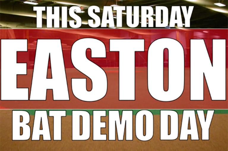 Easton bat demo day