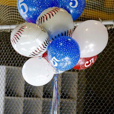 Baseball ballons